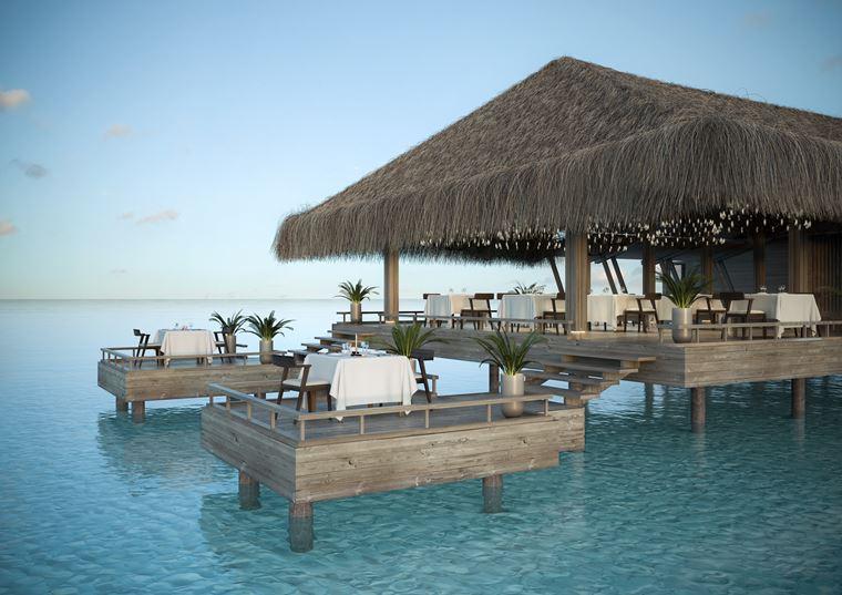 Курорт Baglioni Resort Maldives - ресторан Umami