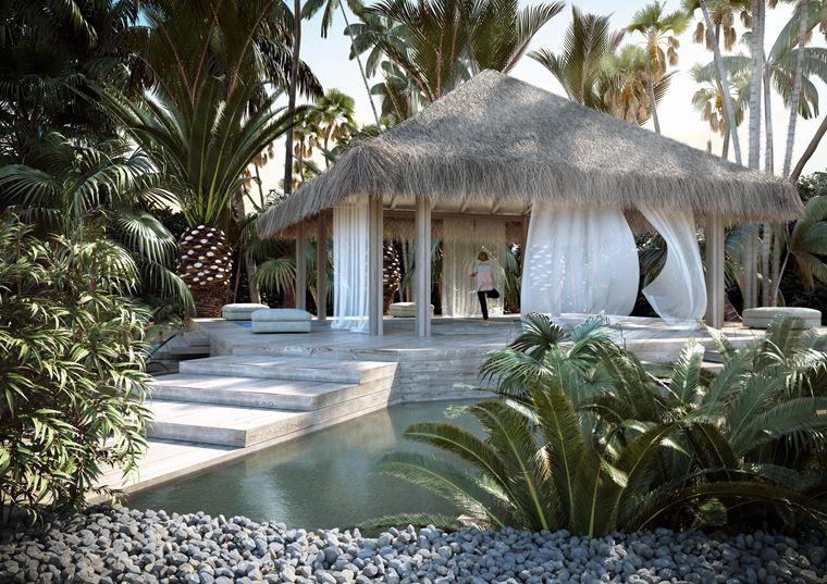 Курорт Baglioni Resort Maldives - павильон йоги