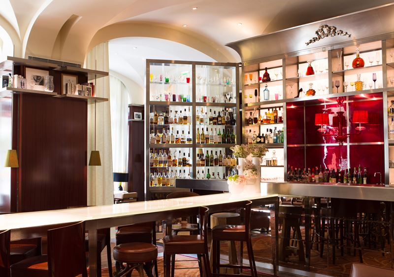 Bar Long  в отеле Le Royal Monceau-Raffles Paris