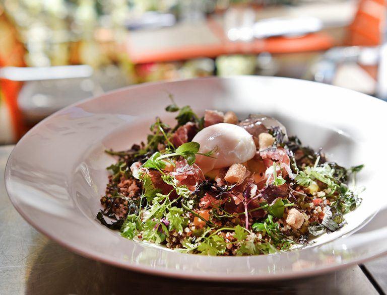 Новый салат «My Blend» в отеле Le Royal Monceau-Raffles Paris