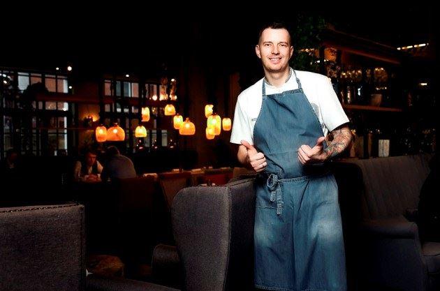 Ресторан MODUS - шеф-повар Виктор Белей