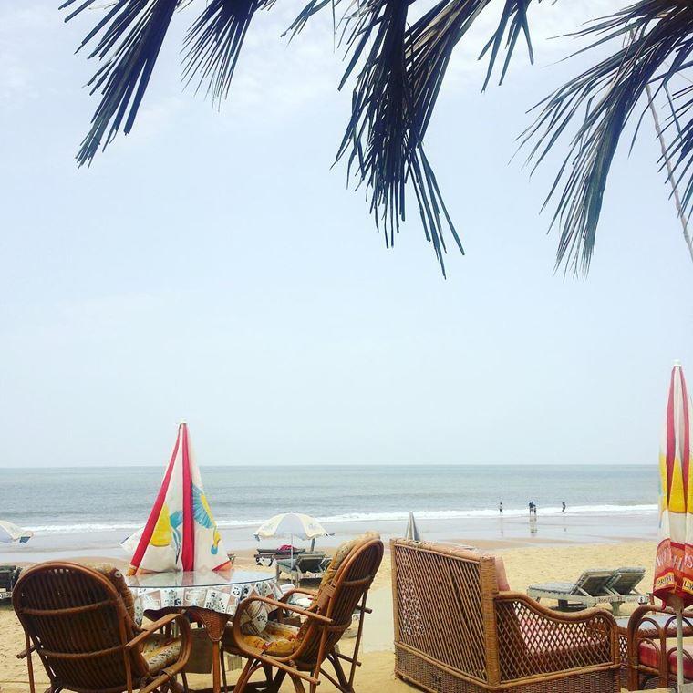 Адлер: фото города и пляжей - Песчаный пляж Имеретинской бухты