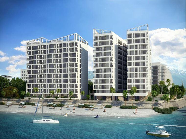 Адлер: фото города и пляжей - ЖК «Солнечный Пляж Адлер»