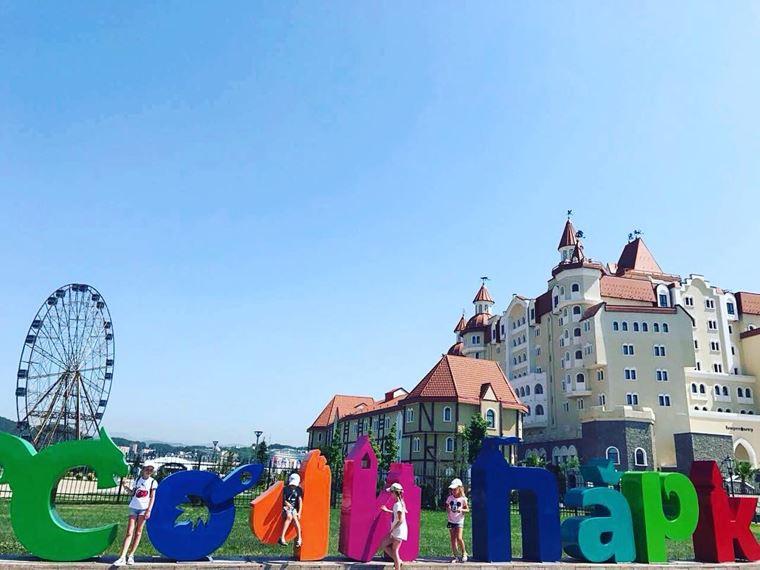 Адлер: фото города и пляжей - Сочи Парк - тематический развлекательный парк