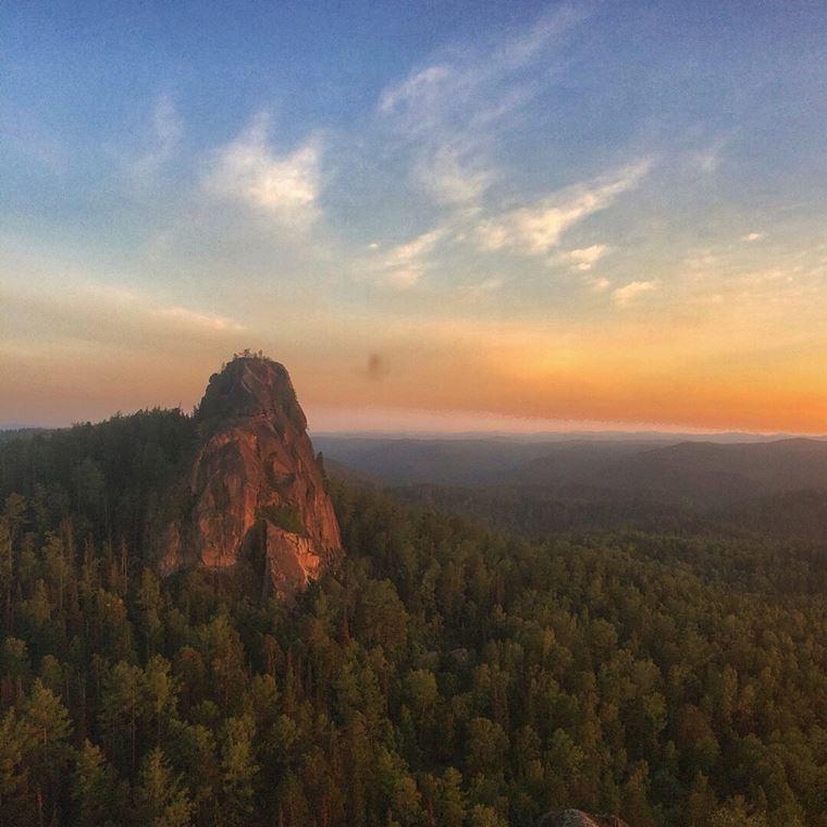 Экологические маршруты России: заповедник «Столбы»