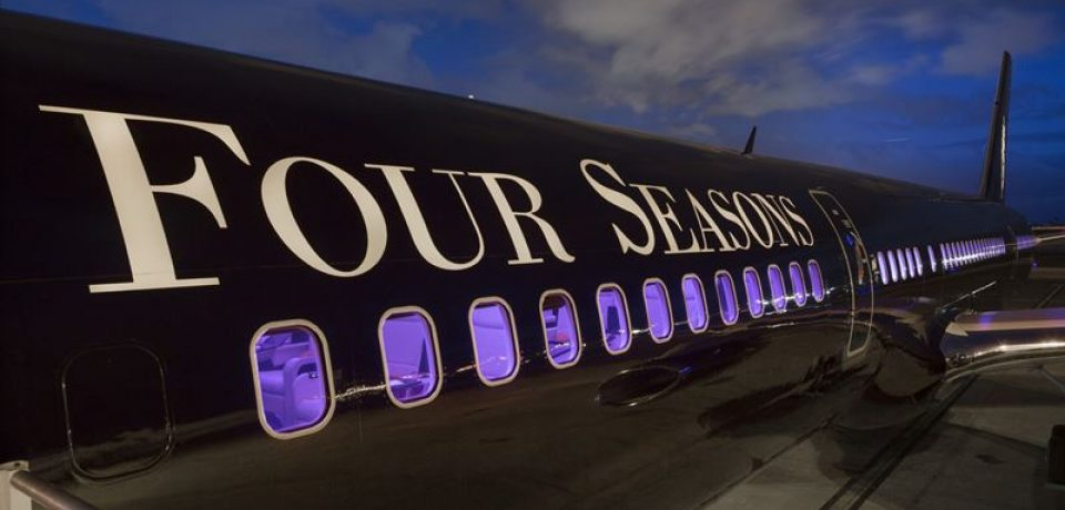 """World of Adventures"" — новый маршрут Four Seasons Private Jet"