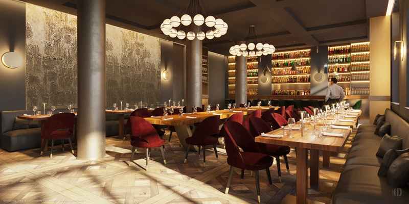 Ресторан отеля Margutta 19 в Риме