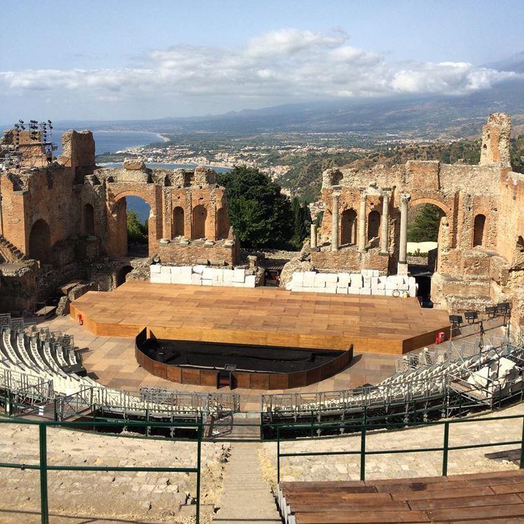 Кинематографическая Сицилия: Греческий театр в Таормине