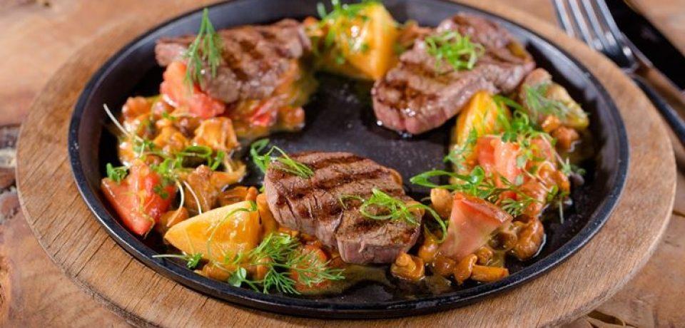 Блюда из лисичек в новом сезонном меню ресторана MODUS