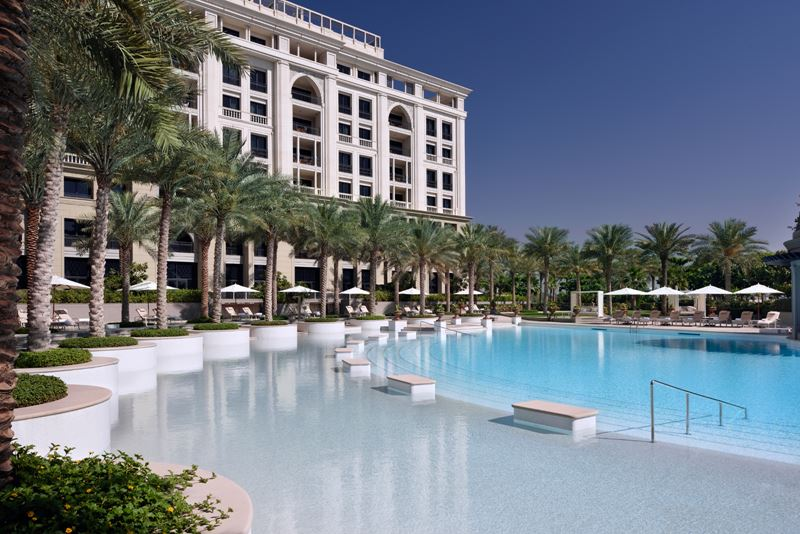 Palazzo Versace Dubai - бассейн
