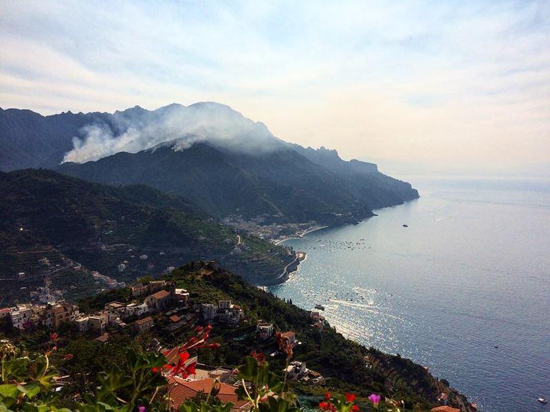 Итальянский Равелло на побережье Амальфи