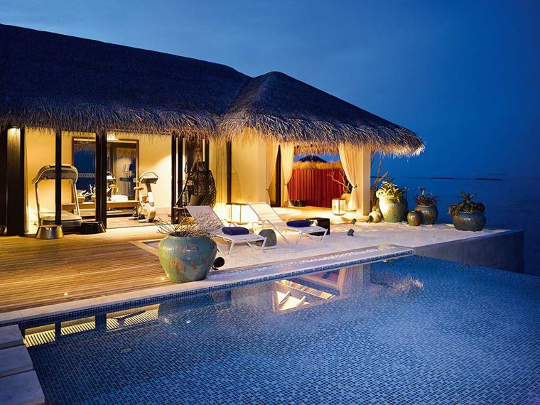 Velaa Private Island Maldives - Romantic Pool Residence Villa