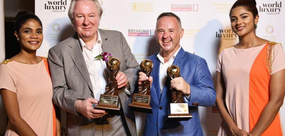 Триумф The St. Regis Maldives Vommuli Resort на World Travel Awards-2017