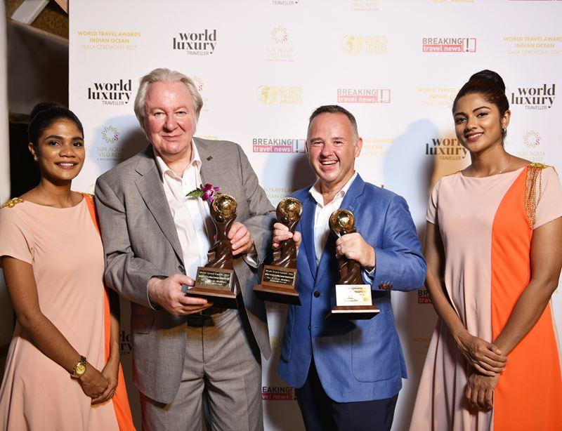 The St. Regis Maldives Vommuli Resort на World Travel Awards-2017