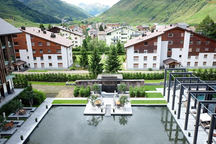 Из Цюриха в Андерматт: отель The Chedi Andermatt