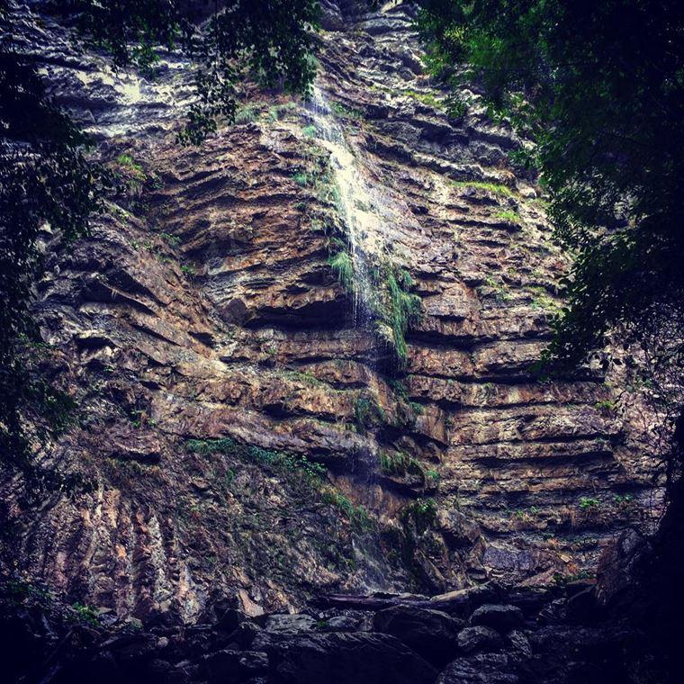 Туапсе: фото города и пляжа - водопад Перун