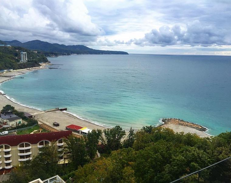 Туапсе: фото города и пляжа - Небуг
