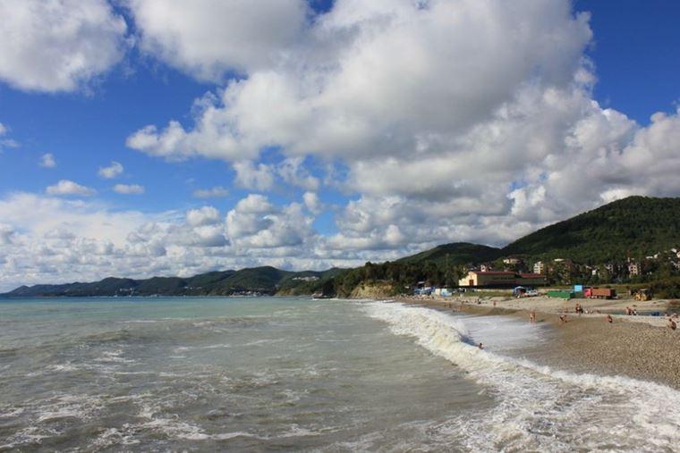 Туапсе: фото города и пляжа - пляж Агой
