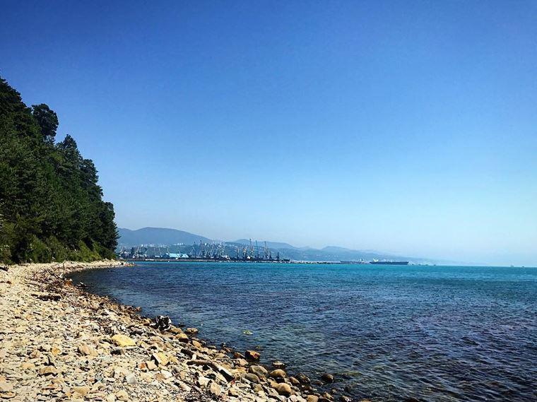 Туапсе: фото города и пляжа -
