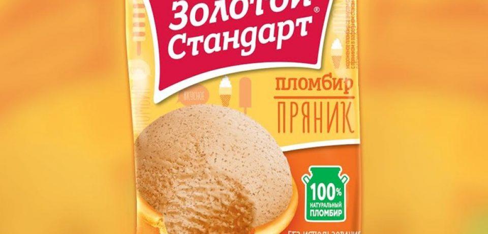 «Золотой стандарт с пряником» — новый пломбир в традиционном русском стиле