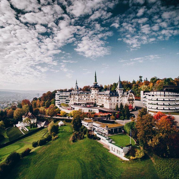 Отель-замок The Dolder Grand в Цюрихе