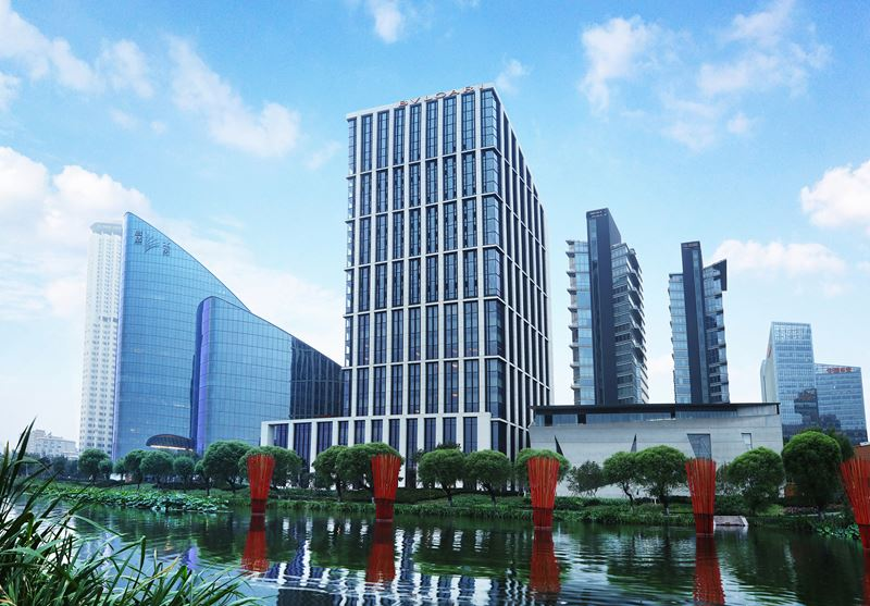 Bulgari Hotel Beijing - фасад отеля