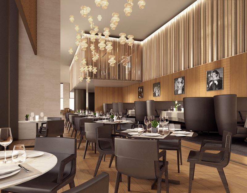 Bulgari Hotel Beijing - ресторан отеля