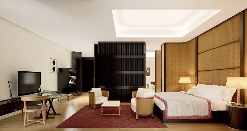 Bulgari Hotel Beijing - номер класса suite
