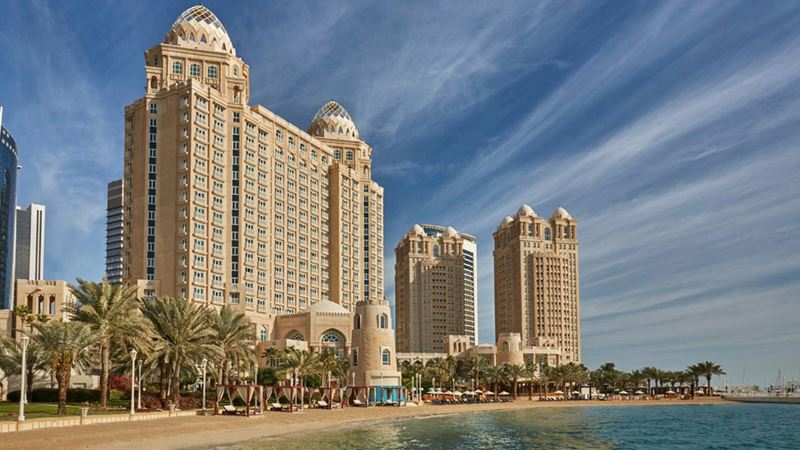 Four Seasons Hotel Doha - архитектура