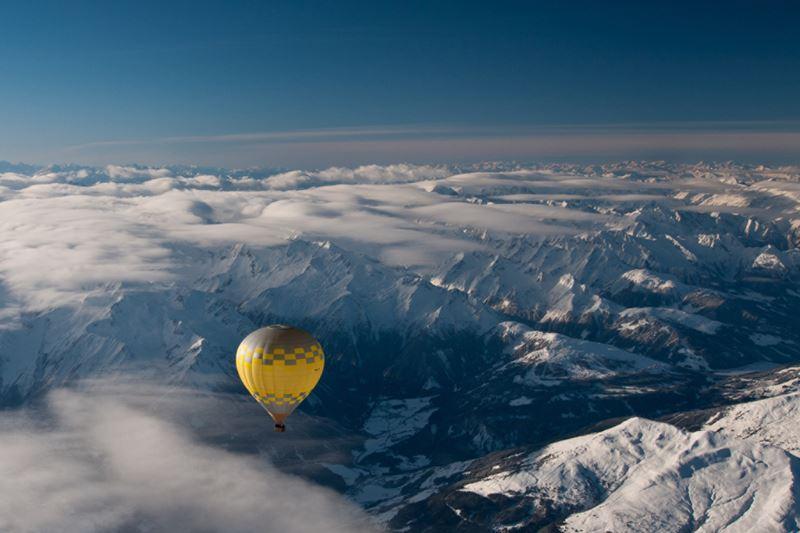 Four Seasons Hotel Megeve - пейзаж горнолыжного курорта
