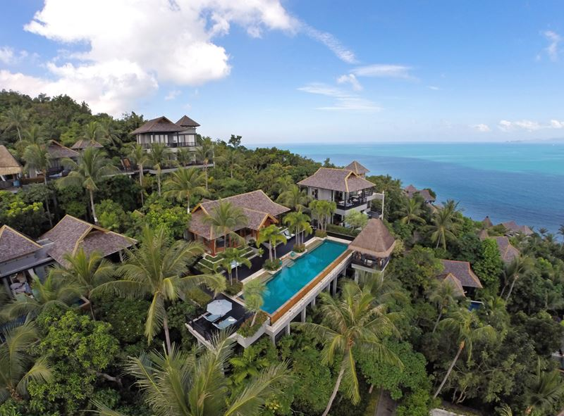Four Seasons Resort Koh Samui - виллы с бассейном с видом на океан