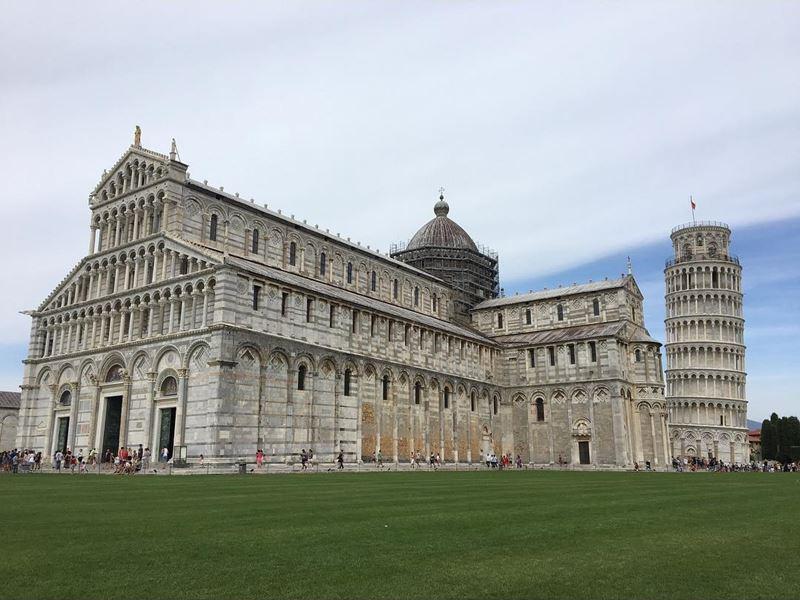 Города северной Италии: архитектурные достопримечательности Пизы (регион Тоскана)