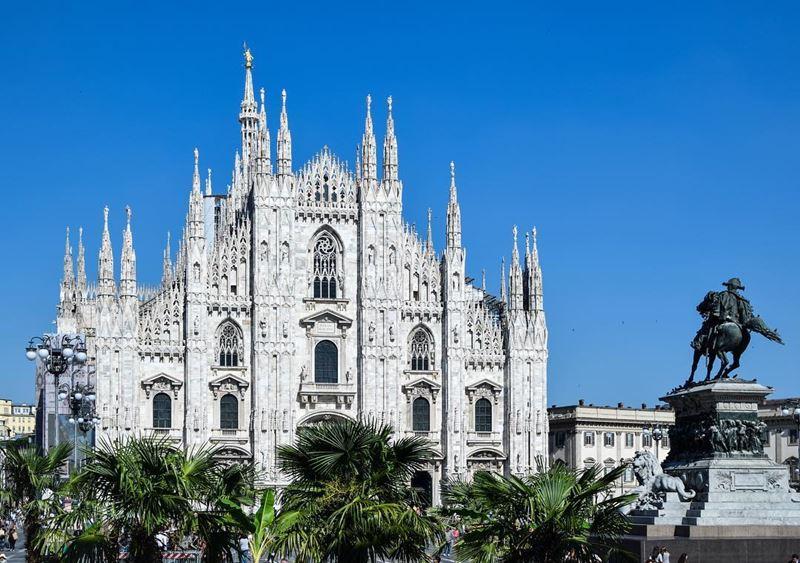 Города северной Италии: архитектурное величие Милана (Ломбардия)