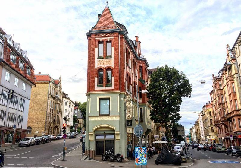 Красивые города юга Германии: Штутгарт - архитектура центра города