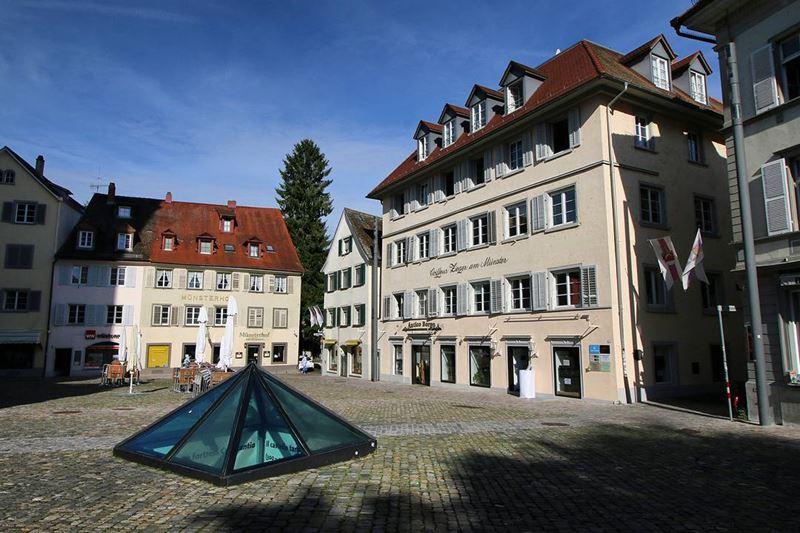 Красивые города юга Германии: Констанц - площадь старого города