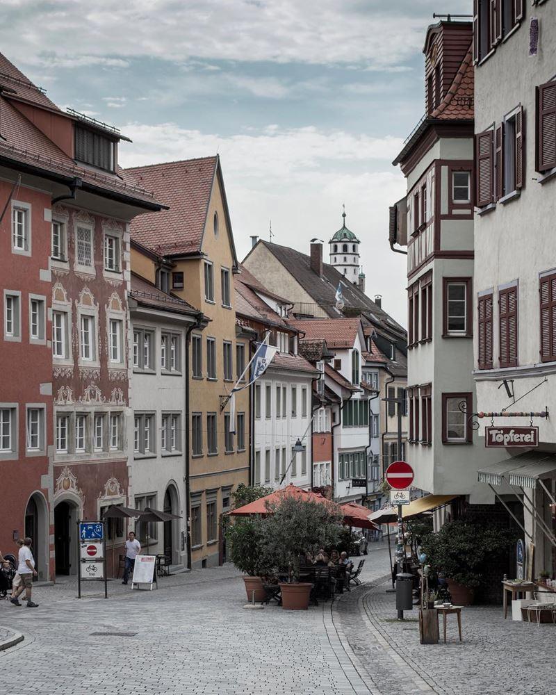 Красивые города юга Германии: Равенсбург - старая часть города