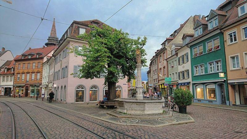 Красивые города юга Германии: Фрайбург - старая часть города