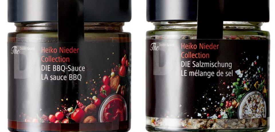 Коллекция продуктов Heiko Nieder Collection от отеля The Dolder Grand