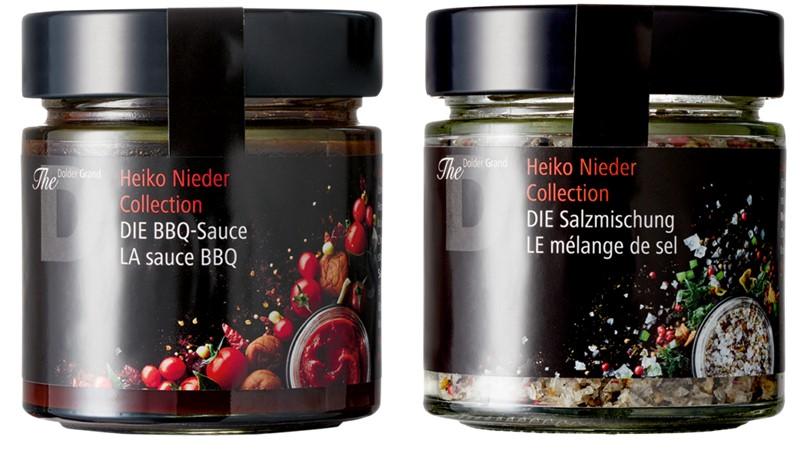 Heiko Nieder Collection - соус барбекю и микс-салат