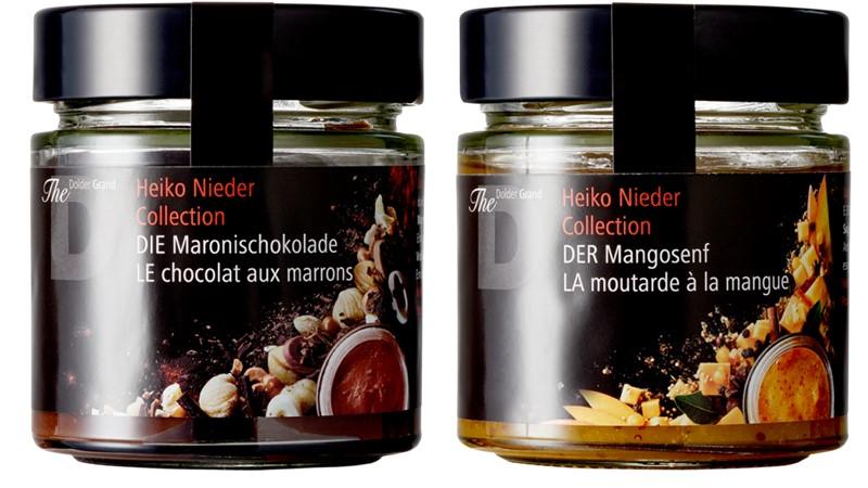 Heiko Nieder Collection - каштановый шоколад и манго с горчицей