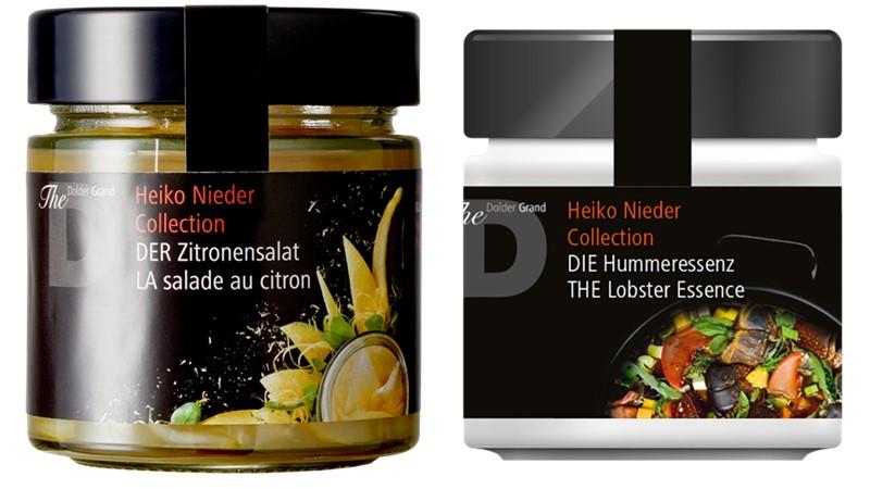 Heiko Nieder Collection - лимонный салат и эссенции из лобстера