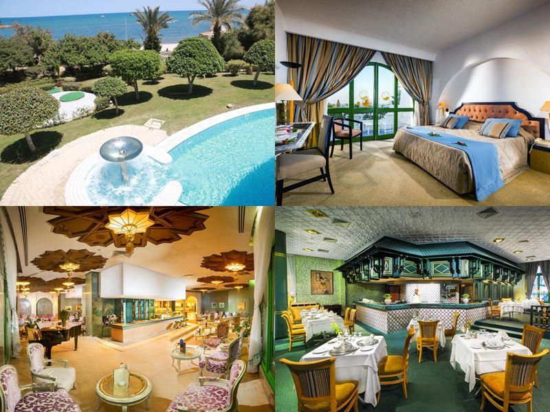 Курортные спа-отели Туниса 4 звезды - Hasdrubal Thalassa & Spa  (Порт Эль-Кантауи)