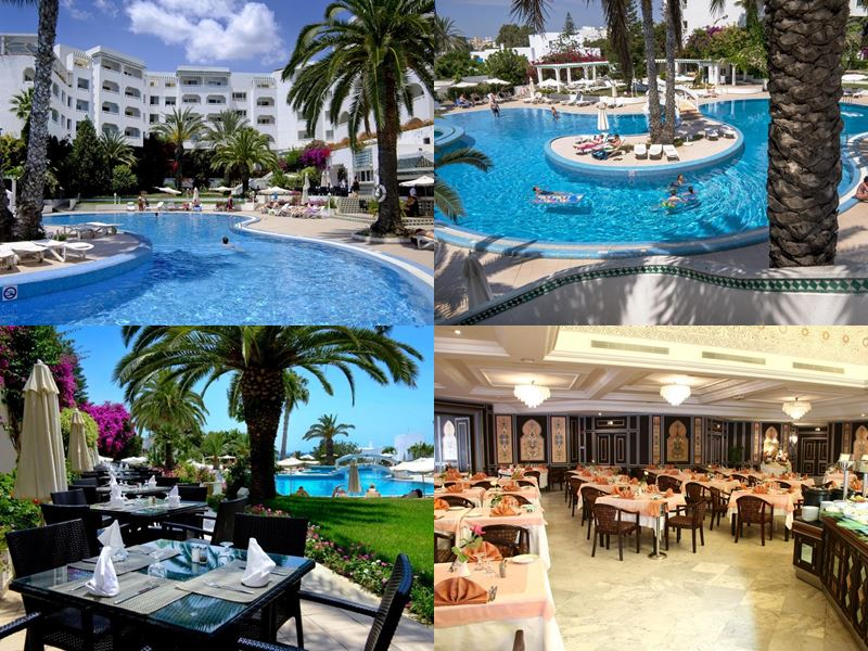 Курортные спа-отели Туниса 4 звезды - Hôtel Sol Azur Beach Congrès (Хаммамет)