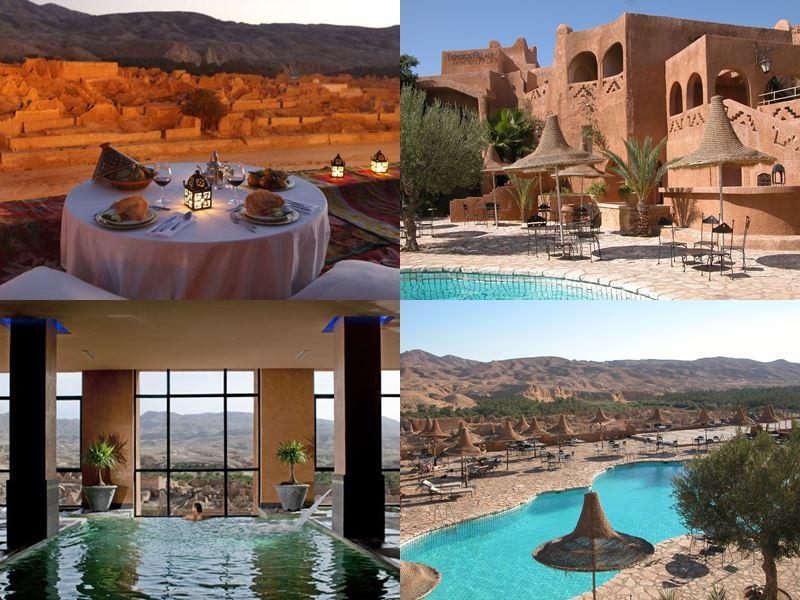 Курортные спа-отели Туниса 4 звезды - Tamerza Palace (Тамерза)