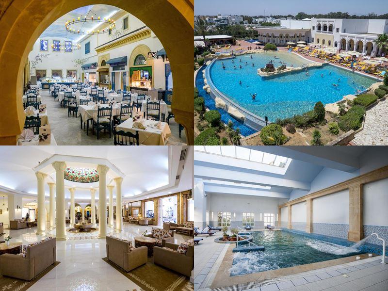 Курортные спа-отели Туниса 4 звезды - Medina Belisaire And Thalasso (Ясмин/Хаммамет)