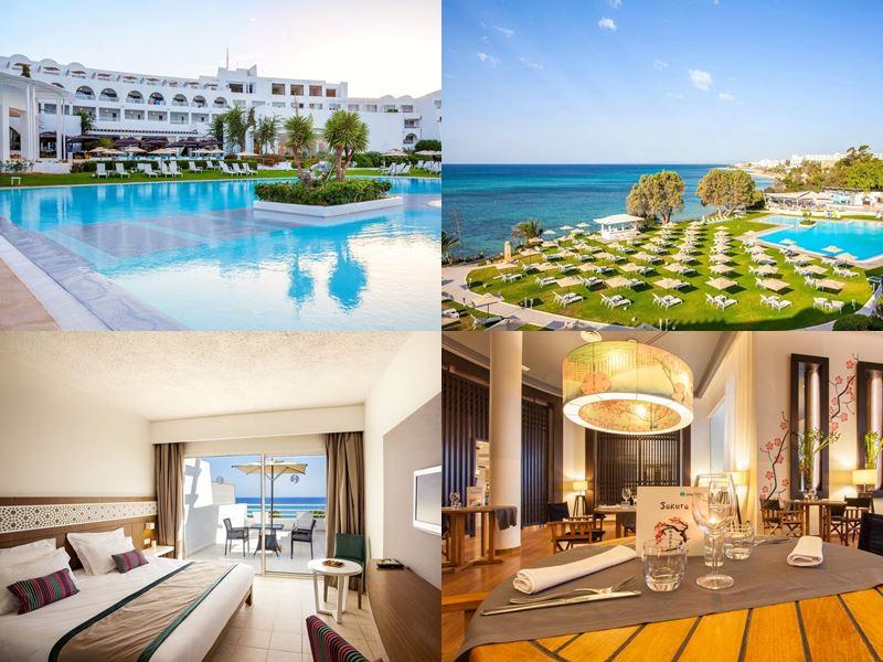 Курортные спа-отели Туниса 4 звезды - Sentido Le Sultan (Хаммамет)