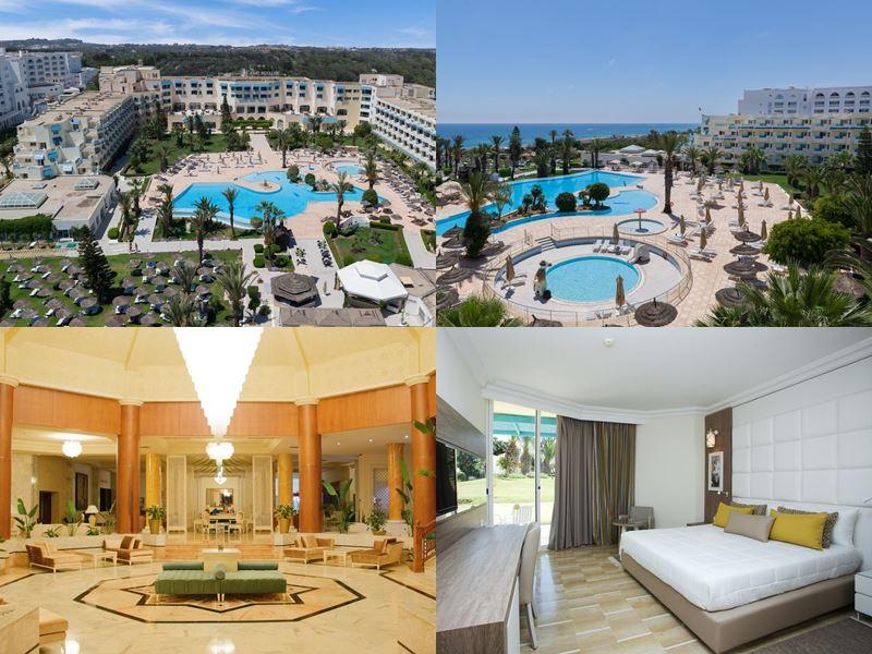 Курортные спа-отели Туниса 4 звезды - Bellevue Park Hotel (Порт Эль-Кантауи)