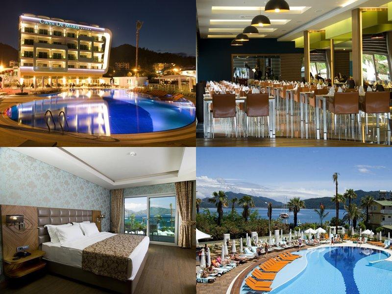 Курортные спа-отели Турции (5 звёзд) - Casa De Maris Spa & Resort Hotel (Мармарис)
