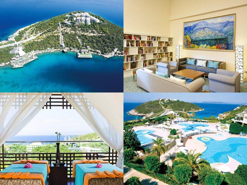 Курортные спа-отели Турции (5 звёзд) - Hilton Bodrum Turkbuku Resort & Spa (Гёльтюрбюку/Бодрум)