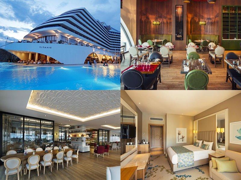 Курортные спа-отели Турции (5 звёзд) - Titanic Beach Lara (Лара)